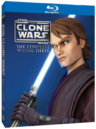 Star Wars Clone Wars - Season 3 [Blu-ray][Region Free]