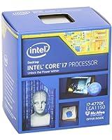 Intel Processeur Core i7-4770K - 3.5GHz - 4 coeurs - Haswell HE  - 1056 Socket - Boite