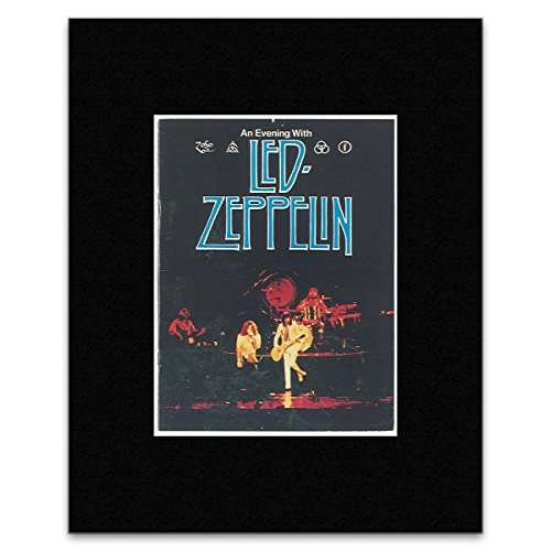 Led Zeppelin - Us Tour 1977 Matted Mini Poster - 14.5X10.9Cm