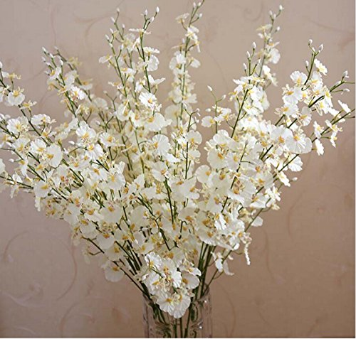 YYF® 12PCS Artificial Orchids Natural Fake Flower for Home Decorations Wedding Party