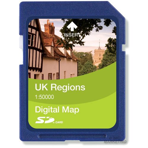 Satmap Regions 1:50000 Northern England