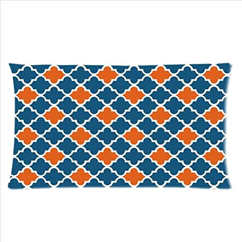 Navy Blue And Orange Bedding