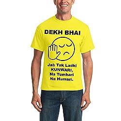 Yolo4u Jab Tak Ladki Kunwari Na Tumhari Na Humari Dekh Bhai Tshirt