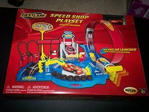 Fastlane Speed Shop Playset