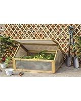 Mini serre de jardin - bois - châssis froid - pour le jardin