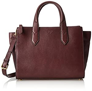 Fossil Knox Shopper Shoulder Bag,Raisin,One Size