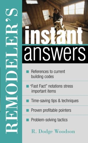 Remodeler'S Instant Answers front-1056913
