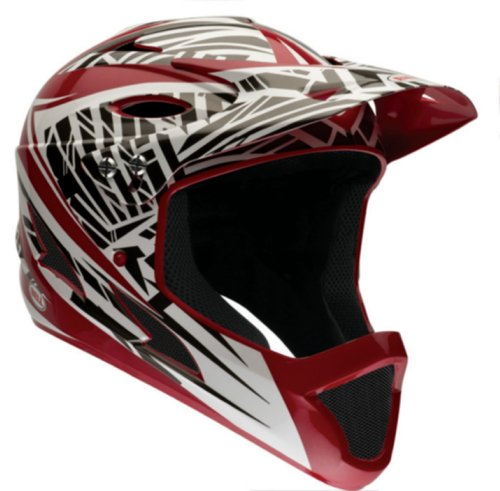 Bell-Youth-Full-Face-Exodus-Helmet-Red-Gloss-Shrapnel