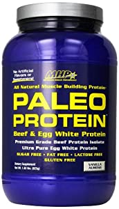 Maximum Human Performance Paleo Protein Supplement, Vanilla Almond, 28 Servings
