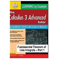 Calculus 3 Advanced Tutor: Fundamental Theorem of Line Integrals Part 1