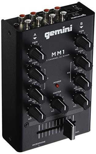 Best Price! Gemini MM1 2-Channel DJ Mixer