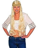 Blonde Hippie Costume Wig - Adult Std.