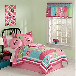 Gardners Friend Twin Quilt with Pillow Sham