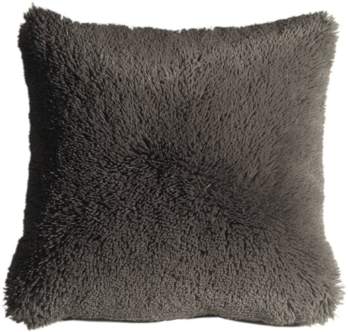 Pillow Decor - Soft Plush Gray 20x20 Throw Pillow