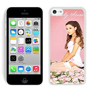 Amazon.com: Ariana Grande 3 White Iphone 5C Screen Phone Case Durable