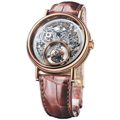 Breguet Classique Complications Tourbillon Messidor Mens Rose Gold Watch 5335BR/42/9W6