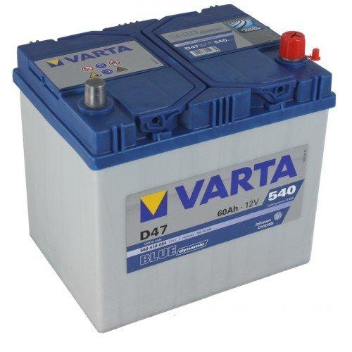 VARTA D47 Blue Dynamic / Autobatterie / Batterie