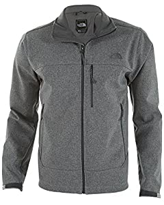North Face Mens Apex Bionic Fleece Jacket Grey Heather by The North Face
