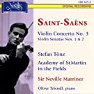 Saint-Saens: Violin Concerto and Sonatas