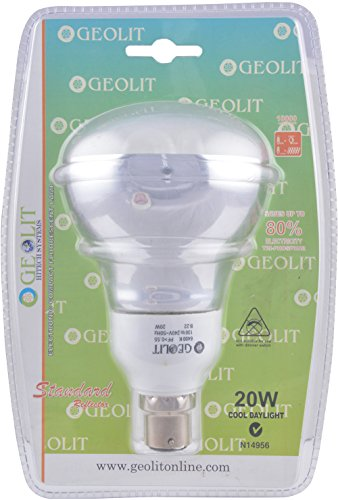 Geolit 20W CFL Bulb (White) Image