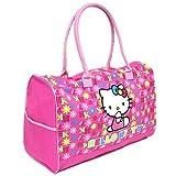 Sanrio Hello Kitty Large Travel KT Duffle Gym Bag Tote Luggage purse