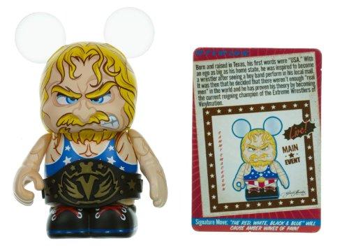 "Sammy Smackdown (Chaser) - Disney Vinylmation ~3"" Extreme Wrestlers Series Designer Figure"