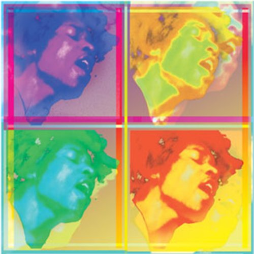 Licenses Products Jimi Hendrix 4 EL Sticker