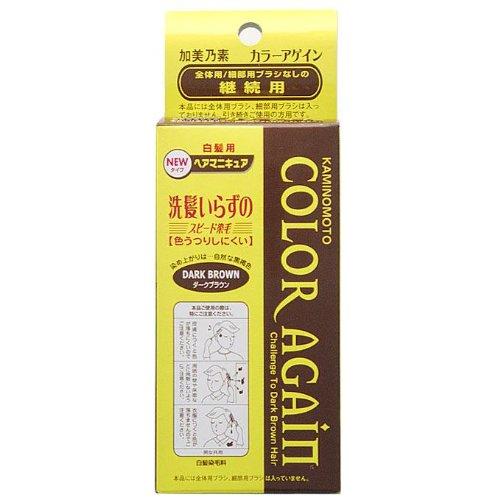 加美乃素 カラーアゲイン ダークBR 替 80ml
