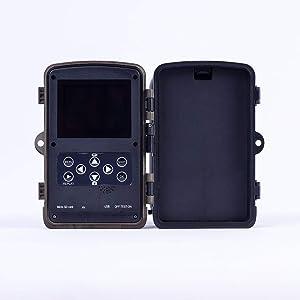 YANXM Hunting Camera Motion Activated H801 16MP Digital Waterproof Trail Wildlife Camera