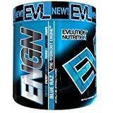 Pre workout ENGN By EVLUTION NUTRITION 30 Servings, 8.9 oz Blue Raz