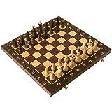 【ポーランド製】木製チェスセット CLASSIC 41cm