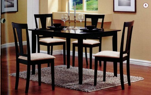 5-piece-dining-set-in-black-coaster