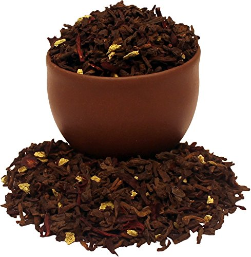 Capital Teas Pu-Erh Blood Orange Tea, 4 Ounce