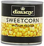 D'aucy Sweetcorn 340 g (Pack of 12)