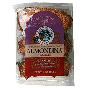 Almonida Cookie Biscuit Sesame, 4-Ounce