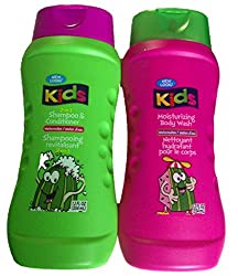 Kids Watermelon 2-in-1 Shampoo and Conditioner, Moisturizing Body Wash (One each of shampoo and body wash)