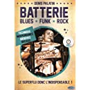 Palatin Denis Batterie Blues Funk Rock Drums Book/Cd French