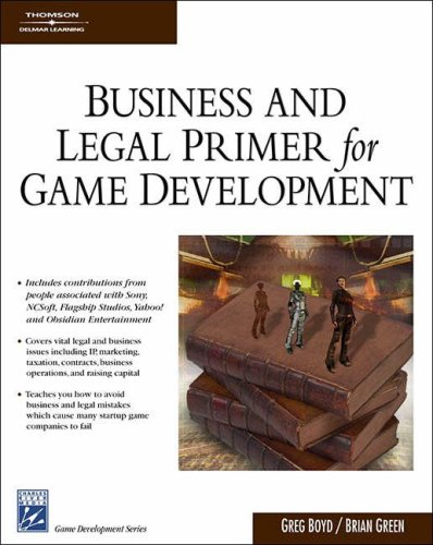 Amazon.com: Business & Legal Primer for Game Development (9781584504924): S. Gregory Boyd, Brian Green: Books