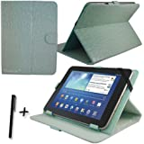 """Luxury Blue Crocodile PU Leather Case Cover Stand for CAMBRIDGE SCIENCES STARPAD 3 10SE 10.1"""" inch Tablet PC + Stylus Pen"""