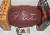 Devin Street Dallas Cowboys Autographed Signed NFL Composite Football