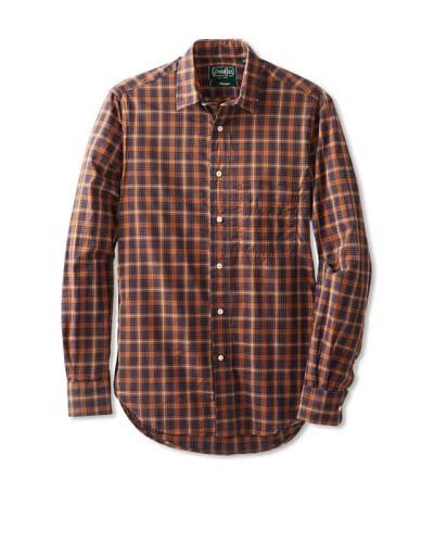 Gitman Vintage Men's Plaid Long Sleeve Key Shirt