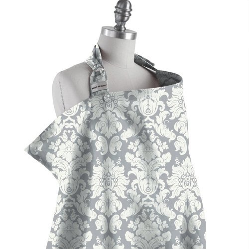 Chateau Silver Bebe Nursing Cover