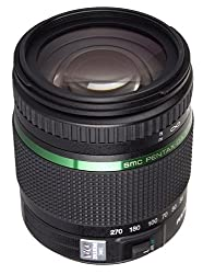 Pentax K-Mount SMC DA 18-270mm F/3.5-6.3ED SDM Telephoto Zoom Lens for Pentax DSLR Camera
