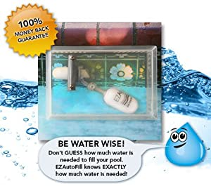 Swimming Pool Auto Fill Valve And Protective Cover Ezautofill The Water Wise