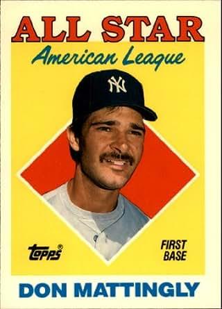 Amazon Com 1988 Topps Tiffany Baseball Card 386 Don