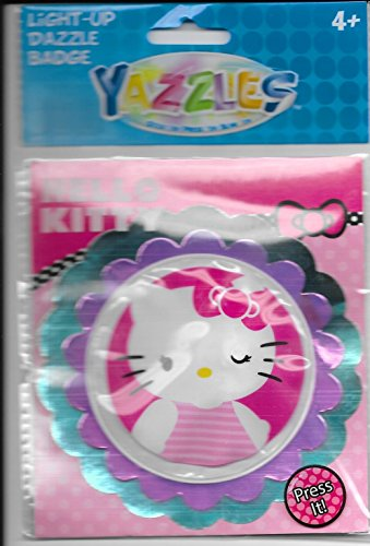 Yazzles Hello Kitty Light-up Dazzle Badge