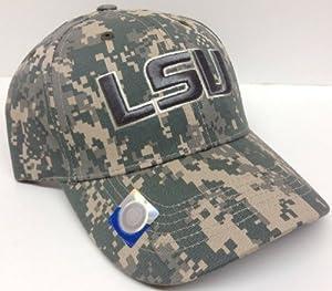 Buy LSU Tigers Digital Camo Hat Cap Camouflage by NCAA