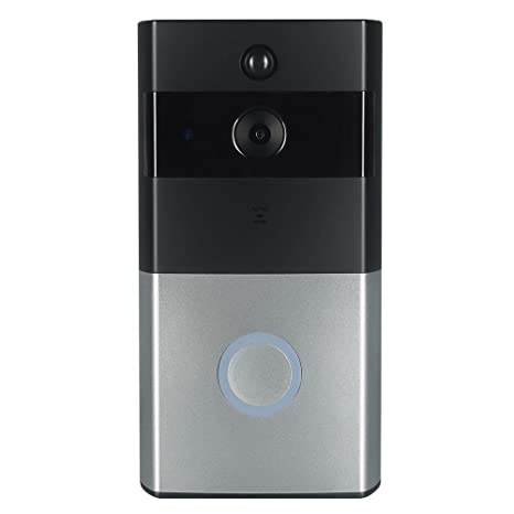 Solotree Wireless Battery Video Doorbell with 2.4G Wi-Fi, Enabled Video Doorbell Wireless Door with Wide-angle lens