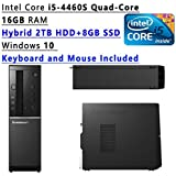 2017 Lenovo Flagship High Performance Desktop PC ( Intel Core I5-4460S Quad-Core 2.90 GHz, 16GB RAM, 2TB HDD+...