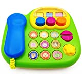 Wishtime Beby Classic 3 Big Talking Animal Sounds/Bell Ring/Music Smart Phone Learning Activity Toy for kids baby